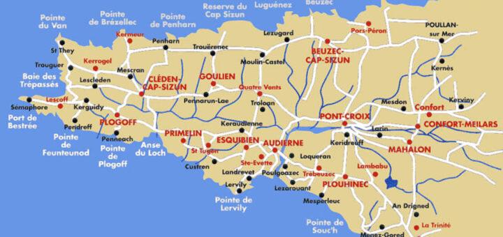 Les communes du Cap-Sizun