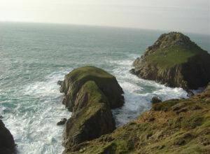 Les falaises de la Pointe du Van