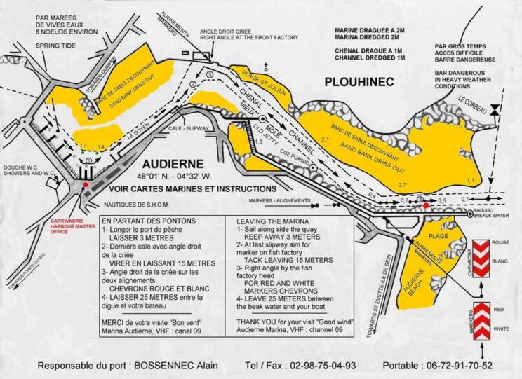 Accès et plan du port