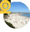 Webcam de la plage de Trezcadec