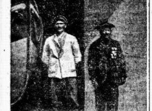 Article Ouest Eclair du 7 juillet 1926 - La station HSB du Loch Primelin
