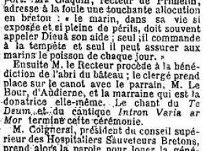 Le courrier du Finistère