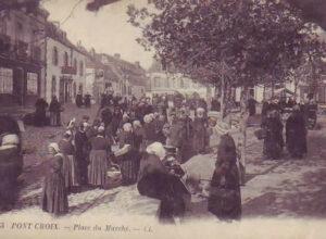 Place du marché - Pont-Croix