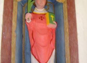 Statue de Ste Chrysante