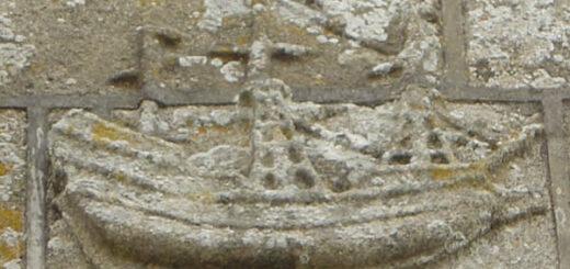 Bateau de pierre - Eglise saint Raymond - Audierne