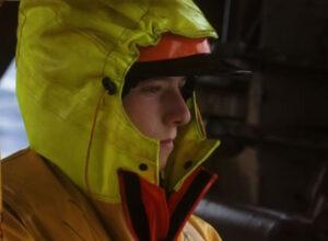 Jonathan Lapart, petit-fils d'Yves, marin à bord du Mariette Le Roch II sur lequel a été tourné le film.