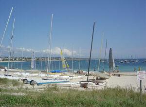 La plage de Ste Evette