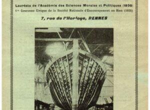 La Revue Les annales du bien de juillet 1936