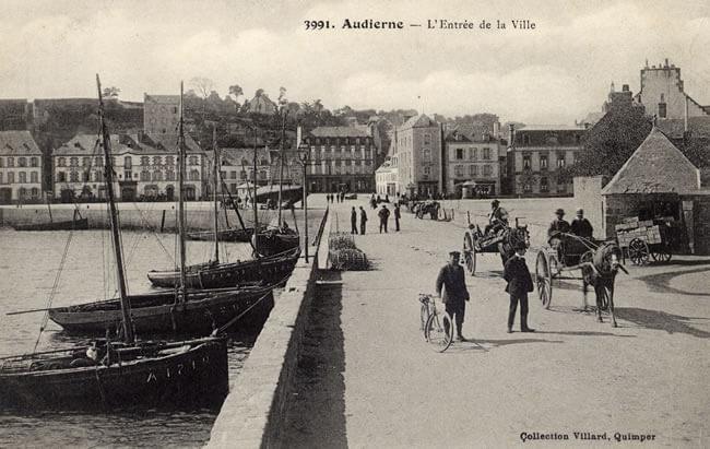Port d'Audierne - Collection Roland Bordas